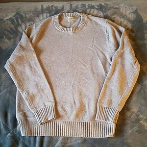 L.L. Bean Heavy Crew Neck Sweater